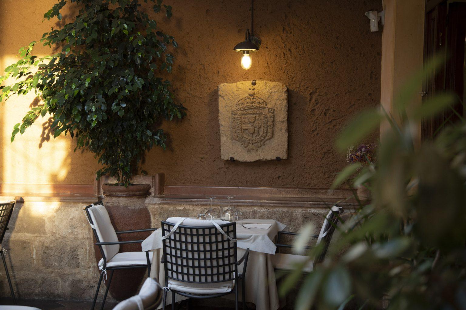 Mirador ristorante Alghero - Sala del giardino