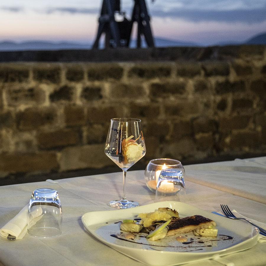 ristorante ad alghero sui bastioni