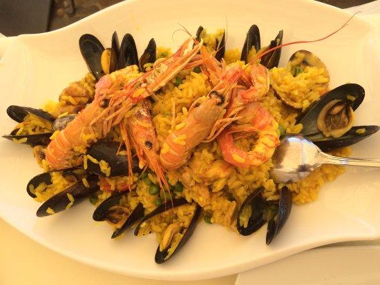 Piatto di Paella Algherese